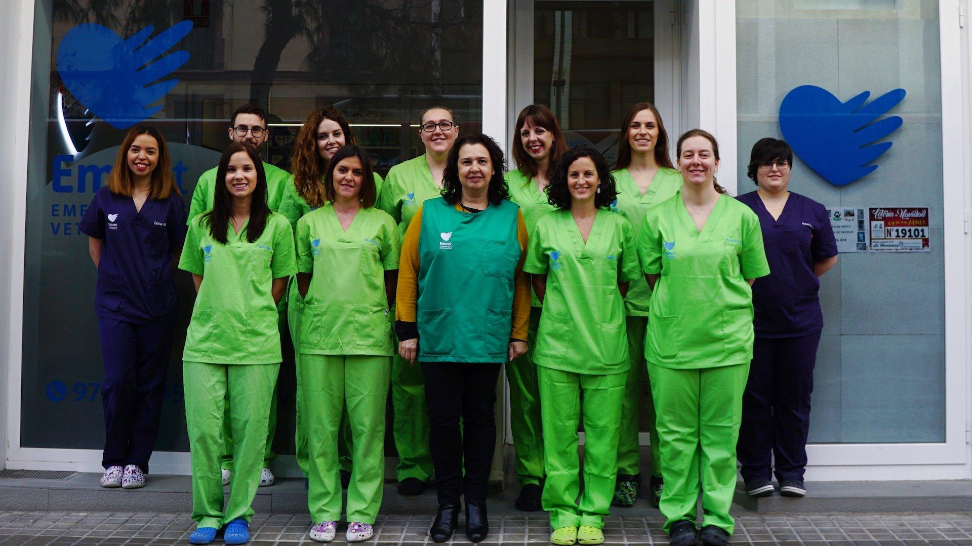 Equipo de EMVET - Emergencias Veterinarias de Zaragoza